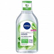 Nivea visage Naturally Good eau micellaire 400 ml