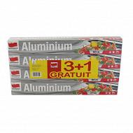 Papier aluminium 3 + 1 gratuit en lot