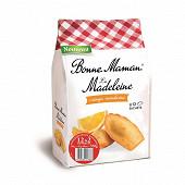 Bonne Maman 12 madeleines à l'orange et mandarine confites 350g