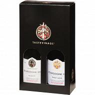 Coffret Tastevine Pinot Noir Aligoté 12.5% Vol.2x75cl