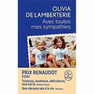 Olivia de Lamberterie Avec toutes mes sympathies