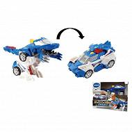 Switch & Go Dinos - oxor super therisinosaure (voiture de police)