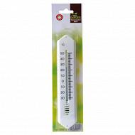 Thermomètre plastique hauteur 19 cm