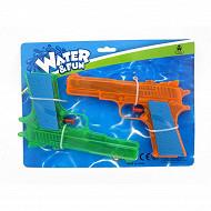 2 pistolets à eau 18cm water fun