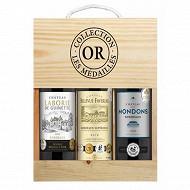 Coffret Bordeaux Collection Or 12.5% Vol.3x75cl