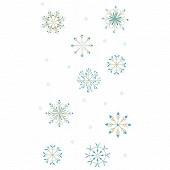 Nappe pliee effet textile 1m40 x 2m20 letitgo ice