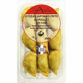Gyozas japonais frits au poulet avec sauce 205g
