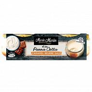 Marie Morin panna cotta caramel beurre salé 2x120g
