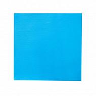 Serviettes x50 lounge turquoise 40x40cm