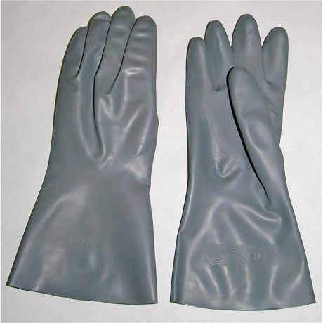 Gants special traitement nitril sur coton floqué taille 08