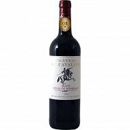 Château cavalier bordeaux cotes de blaye rouge 75cl 13%vol