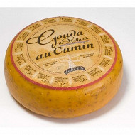 Gouda cumin, lait de vache pasteurisé origine hollande