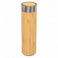 Bouteille isotherme 0.33 L bambou