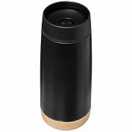 """Mug isotherme 0.4 l """"Terre inconnue"""" coloris noir"""