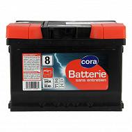 Cora batterie n°8 - 60Ah/540A-LB2