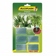 Algoflash engrais plantes vertes 25 batonnets