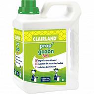 Clairland  engrais gazon liquide herbivor 3 actions concentre 3L