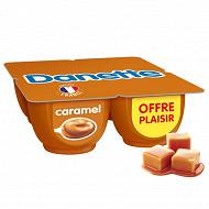 Danette crème dessert caramel 4x125g offre plaisir