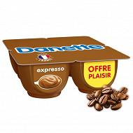 Danette crème dessert expresso 4x125g offre plaisir