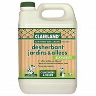 Clairland biocontroe desherbant jardins allees apdln concentre 5L