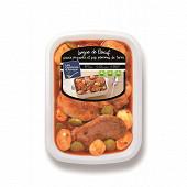 Langue de boeuf sauce piquante et ses pommes de terre 900g