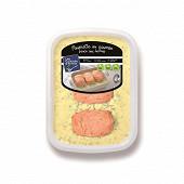 Paupiette au saumon sauce aux herbes 900g