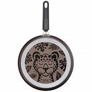 Tefal crépière decor leopard 28 cm non induction