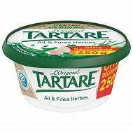 Tartare ail et fines herbes pot 250g offre découverte