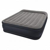 Lit gonfable deluxe rest bed 2 places elec fiber tech