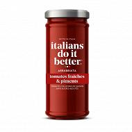 Italians do it better sauce tomate et piment arrabbiata 330g