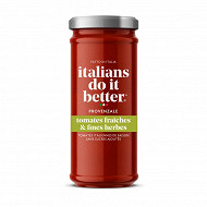 Italians do it better sauce tomate et fines herbes provençale 330g