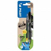 Roller gel g-2 noir + 1 recharge bonus pack