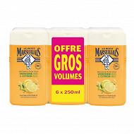Le petit marseillais extra doux verveine citron 6x250ml