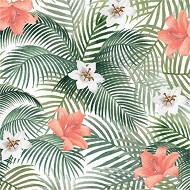 Serviettes x20 palmfree 25x25cm 3 plis