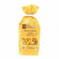 Patrimoine gourmand pâtes d'alsace torsades 7 oeufs frais au kilo 250g