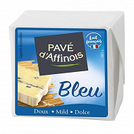 Pavé d'affinois bleu 180g frais emballé