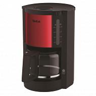 Tefal cafetière rouge inox CM310511
