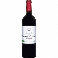 Bordeaux Rouge Mac Château des Hautes Combes BIO Eco sans Sulfites 14.5% Vol.75cl
