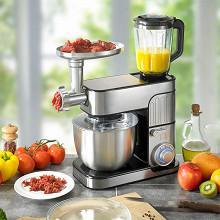 Kitchencook Robot pétrin multifonction 3 en 1 ANTARA PRO INOX