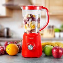Kitchencook Blender 500w 1.5L - B5TURBO RED