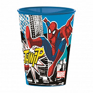 Timbale plastique Spiderman Street 260ml
