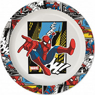 Assiette plate micro ondable Spiderman Street