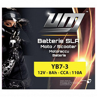 UM batterie YB7-3