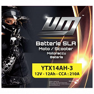 UM batterie YTX14AH-3