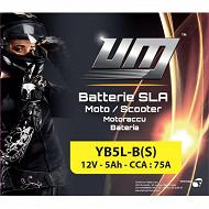 UM batterie moto YB5L-B