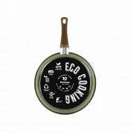 """Poêle """"ECO COOKING"""" 28 cm induction en acier émaillé"""