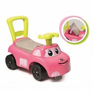 Porteur auto rose