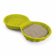 Mini bac à sable double présentoire