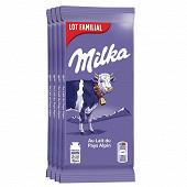 Milka alpine lait 4x100g