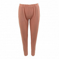 Pantalon jersey femme SOLID ROSE T50\52